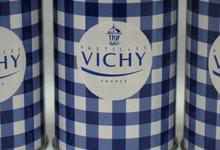pastilles de Vichy dans leur boîte