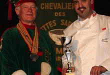 Jean Dijols, maître charcutier, le comptoir des charcutiers