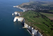 le golfe d'Etretat