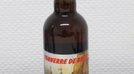Bière blonde triple fermentation Tonnerre de Brest