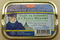 Filets de sardines à l'algue wakamé