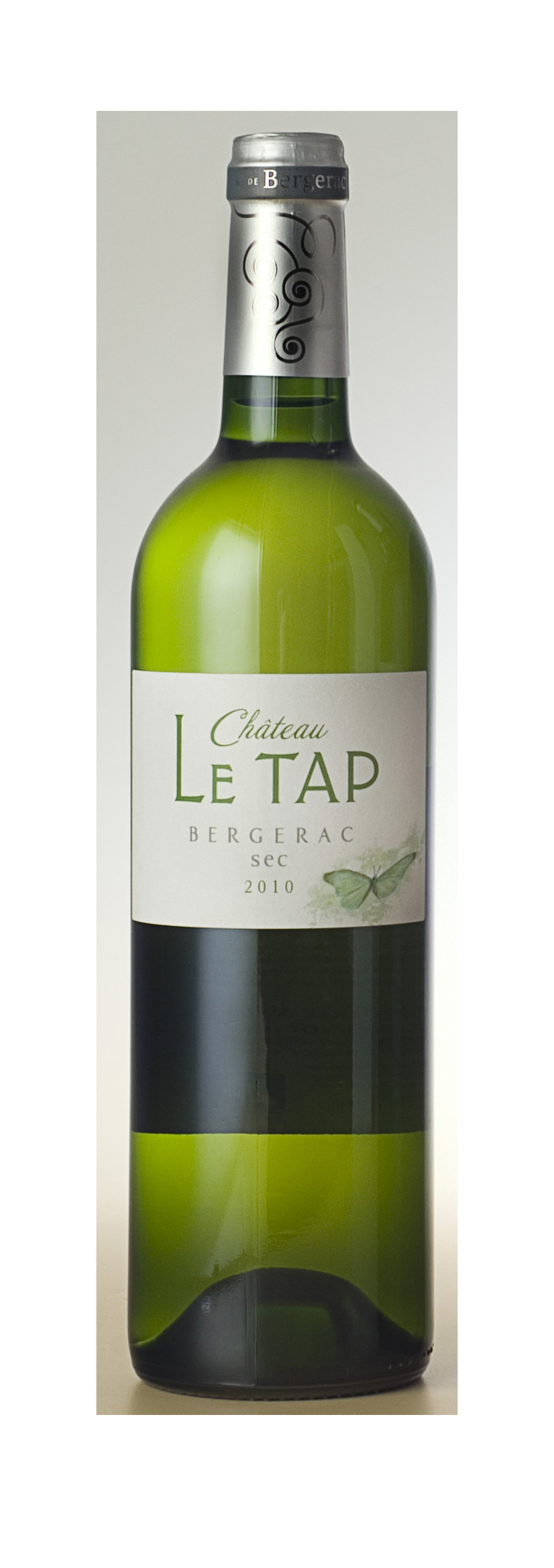 vin blanc sec bergerac 2011 ch teau le tap. Black Bedroom Furniture Sets. Home Design Ideas