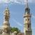 Le beffroi et la fontaine d'Evreux