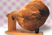 Jambon de Bayonne entier avec os + socle et couteau