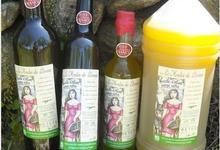 Huile d'Olive en mélange de variétés Olivière et Redouneil en fruité vert