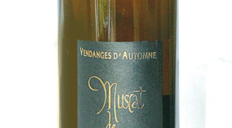 Muscat vin doux naturel Vendanges d'Automne