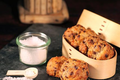 Cookies au chocolat et Fleur de Sel de Camargue 