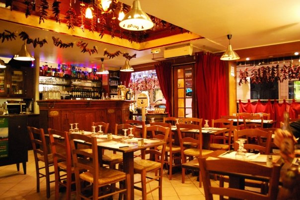 Restaurant chez papa madeleine st lazare paris 8 me 75008 - Restaurant saint lazare paris ...