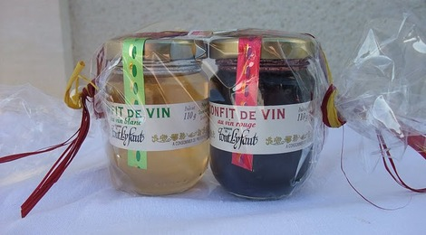 Duo de confits de vin - Domaine de tout l'y faut