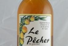 """Apéritif vin de pêche de vigne """"Le Pêcher"""" 16% - 75cl"""