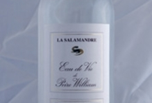 Eau de vie de poire william 45% - Distillerie la Salamandre