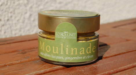 Moulinade aux olives Lucques, gingembre et citron