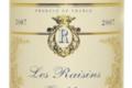 A.O.C Côtes de Bergerac moelleux Les Raisins Oubliés 2009