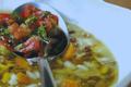 Soupe de lentilles et de riz