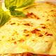 Lasagnes de saumon aux herbes, crème légère au citron vert