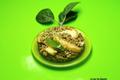 Cocotte de lentilles aux pommes