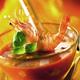 gaspacho de tomates aux gambas
