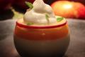 Panna Cotta d'Ariane et fruits exotiques