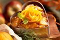 Chaud froid de pommes Ariane à l'orange