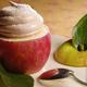 Soufflé chaud de pommes Antarès à ma façon