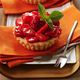 TARTELETTES AUX FRAISES et confit de basilic