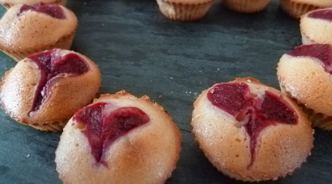 Financier Miel Framboise