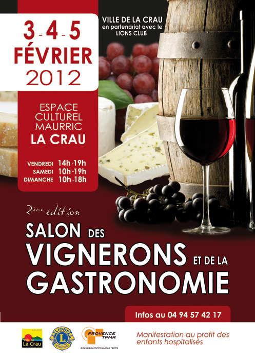 Salon des vins et de la gastronomie la crau la crau 83260 for Salon des vins et de la gastronomie