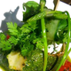 Courgette ronde farcie au chèvre Bio, confiture de tomate et sauce au basilic (recette sans gluten)