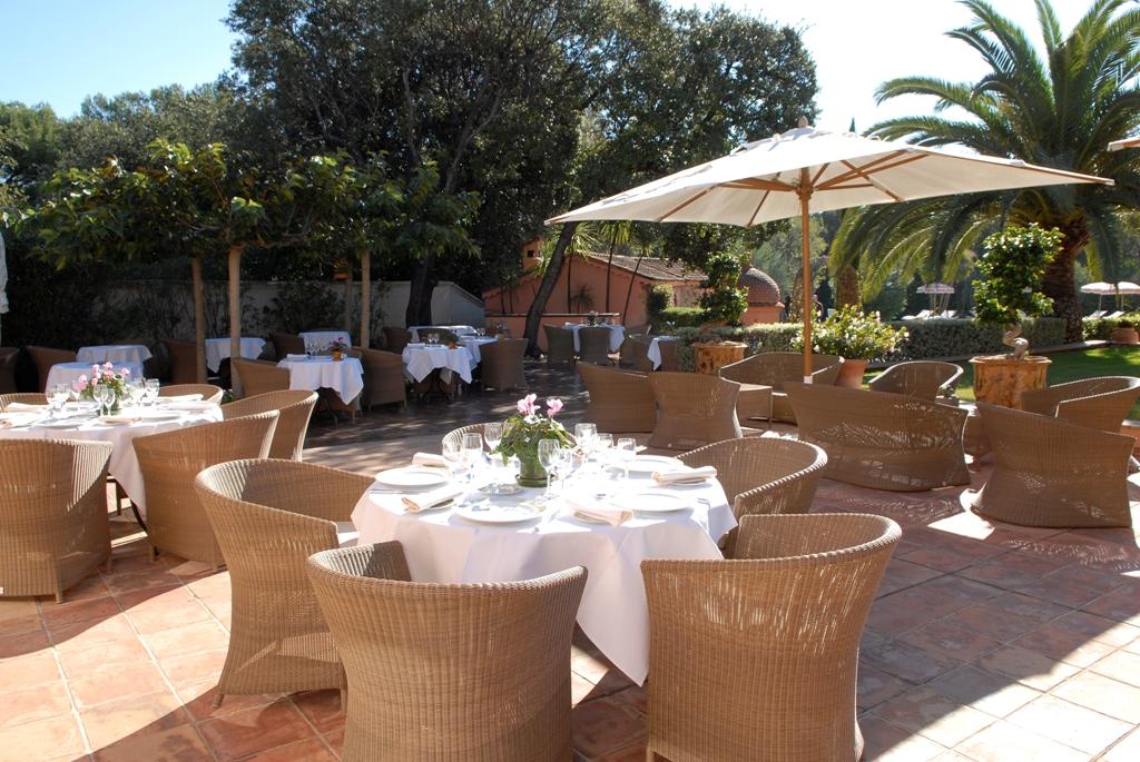 Restaurant imp rial garoupe restaurant le pavillon cap d for Antibes restaurant le jardin