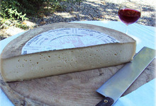 Demi-fromage Raclette fermière du Ramier