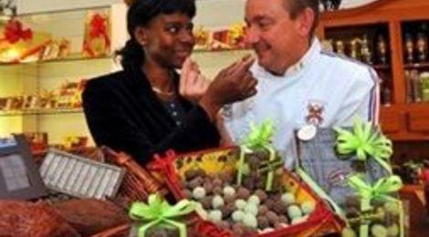 l olive confite au chocolat::la pitcholinette provencale marque deposée.