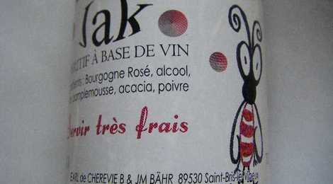 JAK  APERITIF A BASE DE VIN 