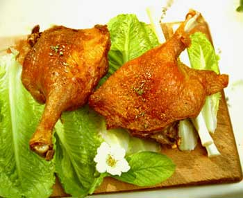 Confit de canard 2 cuisses - Cuisiner cuisse de canard confite ...