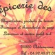 Epicerie des Lys 