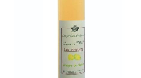 Vinaigre de cédrat - Les jardins d'Alesani