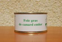 foie gras de canard entier - Ferme de la Mude