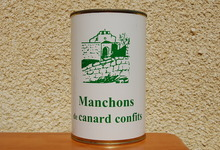Manchons confits de Canard - Ferme de la Mude