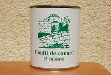 2 cuisses de Canard - Ferme de la Mude