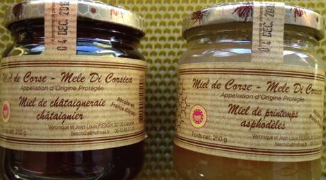 Duo de miels Corses