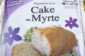 Préparation pour cake aux baies de myrte