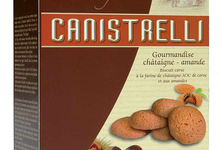 Les Canistrelli Prestiges  Gourmandises Prestige Châtaigne-Amande