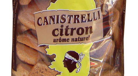 Les Classiques  Biscuits Canistrelli Citron (Arôme naturel)