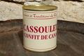 Cassoulet au confit de canard 840g