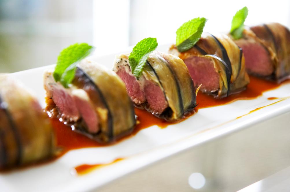 Recette maki d agneau l orientale semoule jus cors - Recette de cuisine gastronomique de grand chef ...
