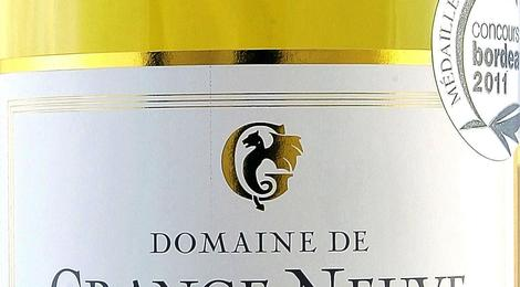 Domaine de GrangeNeuve - AOC Monbazillac 2009