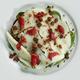 Salade de Manchego aux prunes & pain d'épices
