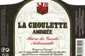 La Choulette Ambrée (alcool 8 % vol.)