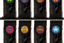 Assortiment Dégustation de 8 cafés gourmets