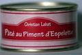 Pâté au Piment d'Espelette 200 grammes