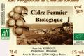 Cidre fermier biologique